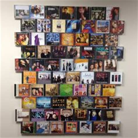 Great Idea For Cheap Wall Album Covers In 1000 Images About Home On Display Cd Cases