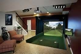 in home golf buy or rent golf simulator best cheap golf simulator