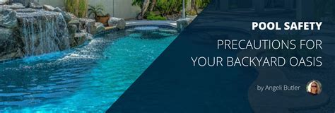 Backyard Pool Safety Backyard Pool Safety Underwater Audio