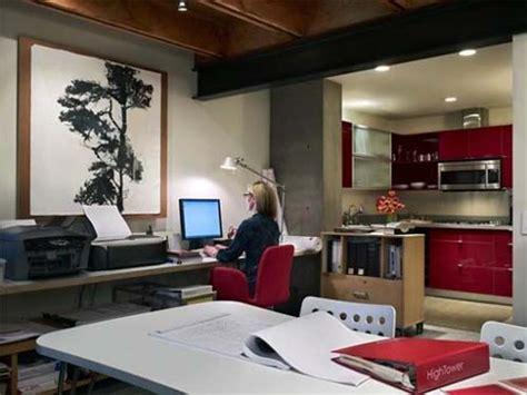 work room live work residence modern house design by