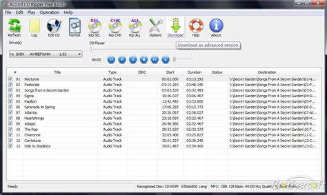 cd audio ripping software convert your cds to mp3 format download free accord cd ripper express accord cd ripper