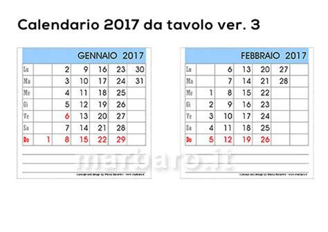calendario ufficio 5 calendari 2017 da tavolo o scrivania per la casa e l ufficio
