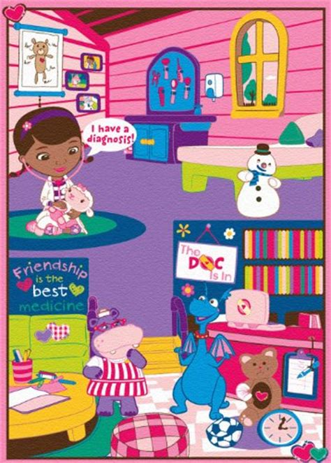 Disney Doc Mcstuffins Rug - disney junior doc mcstuffins doctor s play rug home rugs