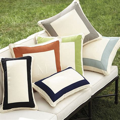 Ballard Designs Pillows outdoor bordered pillow cover ballard designs