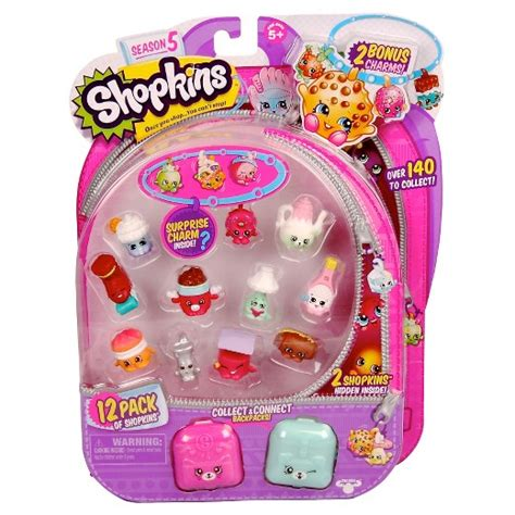 shopkins season 5 pack of 12 shopkins season 5 12 pack target