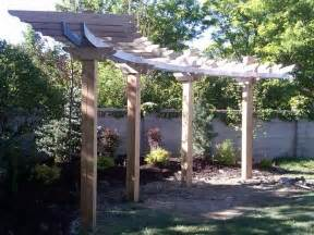 Curved Pergolas by 25 Best Ideas About Curved Pergola On Pinterest