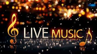 live music gold silver city bokeh star shine yellow loop