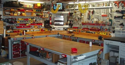 five pro tips for setting up a garage workbench for diy