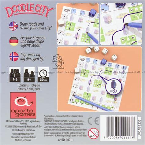 doodle city doodle city k 248 b det billigt dag til dag levering