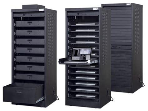 Computer Storage Cabinet Laptop Storage Cabinet Luxor Laptop Computer Workstation And Storage Cabinet 43 Data Link