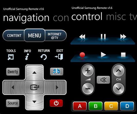 samsung remote app your samsung tvs using samsung remote windows phone app mspoweruser