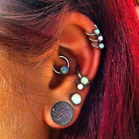 wife pierced ears 25 awesome ear piercing ideas for your inspiration