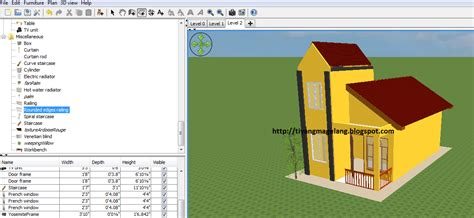 sweet home 3d design tutorial tutorial sweet home 3d modifikasi dinding timkicau