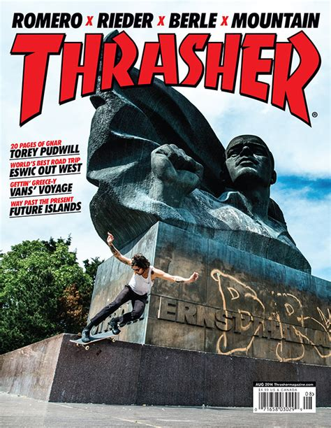 Thrasher Quot by Rieder Thrasher Cover