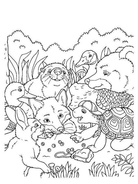 wildlife coloring pages 89 best printable wildlife images on coloring