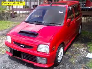 Daihatsu Mira L502 Viva La Rasa Kancil L2 Dan Kancil L5
