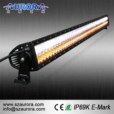 Dual Color Led Light Bar Dual Color 50 In Light Bar Led 12v Lights Manufacturers And Suppliers Customized