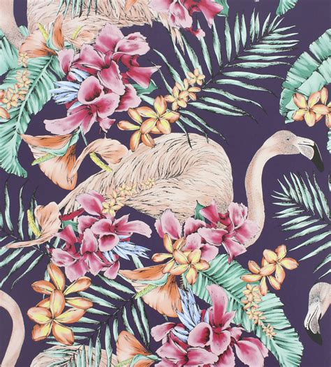 Ralph Lauren Home Interiors flamingo club wallpaper by matthew williamson jane clayton