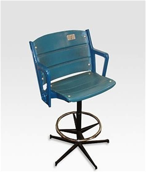 Stadium Height Bar Stools by Authentic Yankee Stadium Seat Bar Stool Eclectic Bar