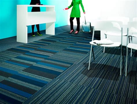handsome modular  patcraft commercial carpet