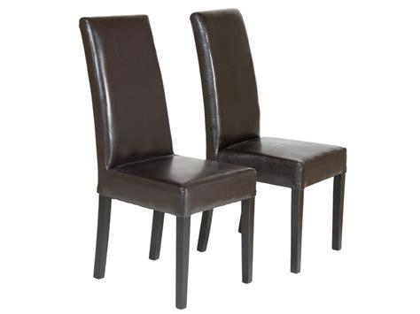 sillas para el salon juego de 2 sillas de polipiel para comedor cat 225 logo sillas