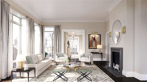 62 million penthouse collection revealed at 20 east end robert a m stern s cushy 20 east end ave penthouses debut