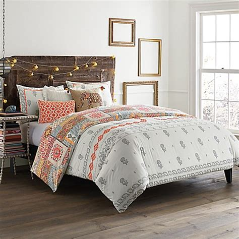 anthology jodhpur reversible comforter set bed bath