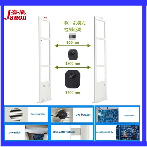 Alarm Security Eas clothing shop security alarm system 8 2mhz eas system for