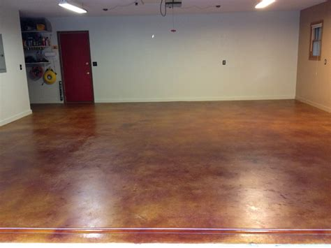 How To Remove Stains From Garage Floor by 25 Garage Floor Staining Harmon Concrete