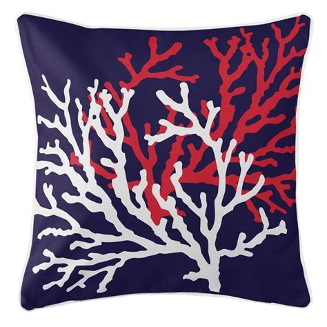 Coral And Navy Pillows by 17 Best Ideas About Navy Pillows On Navy Blue