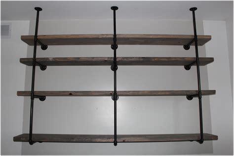 shelf furniture ideas rustic industrial shelf modern