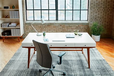 west elm desk l west elm workspace modern private office desk with drawers