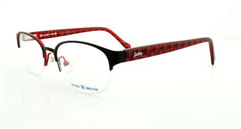 lucky brand eyeglasses coastal black 49mm ebay