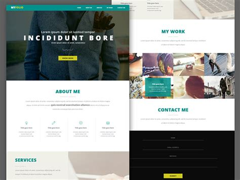 20 Free High Quality Website Template Psds To Download Qa Website Template