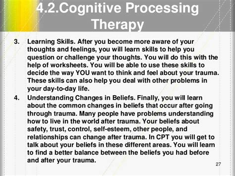 cognitive behavioral therapy a 21 day step by step guide to overcoming anxiety depression negative thought patterns simple methods to retrain your brain psychotherapy volume 4 books lecture 5 phase 2 and 3 working with complex