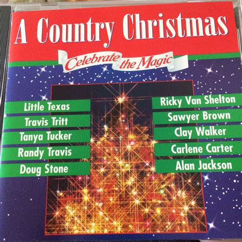 country christmas celebrate  magic  cd discogs