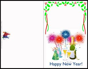 customizable new year greeting cards customize new year greeting card
