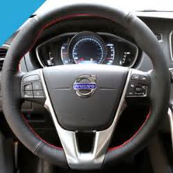Steering Wheel Covers Volvo Leather Car Steering Wheel Cover Sewing Stitch For Volvo