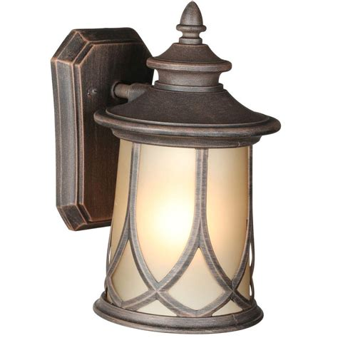 energy progress lighting llc resort collection 1 light aged copper outdoor wall