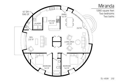 monolithic dome homes floor plans floor plan dl 4508 monolithic dome institute