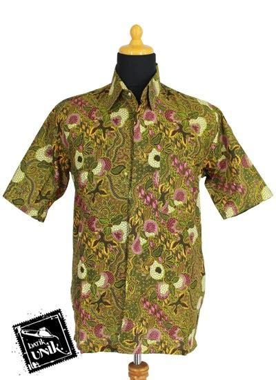 Sarimbit Baju Batik Pasangan Dress Kemeja Soraya Murah baju batik sarimbit dress motif buahan kebon obral batik murah batikunik
