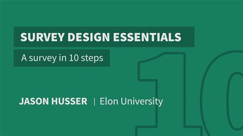 learn css layout in 10 steps a survey in 10 steps survey design essentials learning