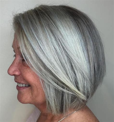 white hair with lowlights glasgow 90 classy and simple short hairstyles for women over 50