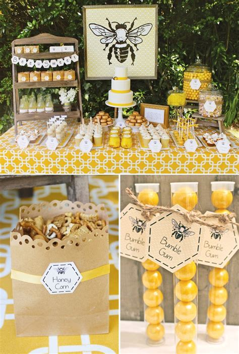 Bee Baby Shower Ideas by Baby Shower Bumble Bee Decorating Ideas