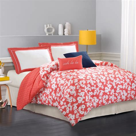 Kate Spade New York Mixed Petal King Comforter Set Kate Spade Bed Set