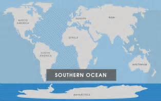 Where Is The Arctic Ocean Located On A World Map by Southern Ocean The 7 Continents Of The World
