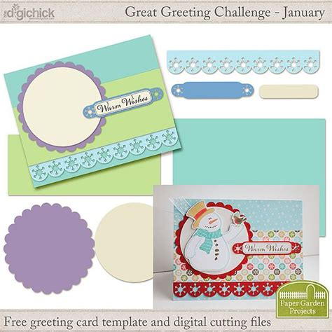 digital greeting card template 17 best freebies images on garden projects