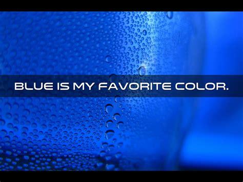 my favorite color is blue daniel s color poems by barry allen