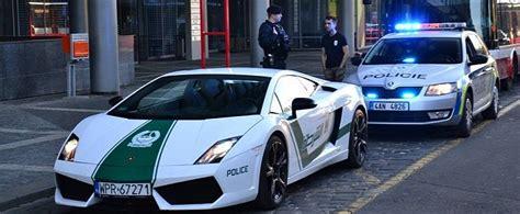 fake lamborghini vs real fake dubai police lamborghini gallardo meets real czech