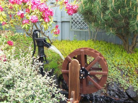 backyard water wheel woodwork garden water wheel plans pdf plans